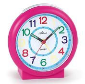Atlanta Kids Alarm Clock Pink 1917-8