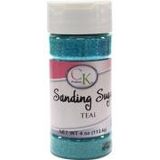 CK Products 78-505T Cake Decorating Sanding Sugar Bottle, 120ml, Teal