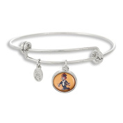 The Adjustable Band Bangle Bracelet featuring the Flash Tattoo Woodpecker