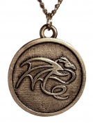 Reversible Dragon Pendant