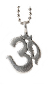 Yoga lovers wear this jewellery Lead-free Pewter Om Yoga Pendant