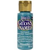 DecoArt Americana Gloss Enamel Paint, 60ml, Desert Turquoise