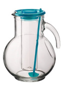 Bormioli Rocco 2 Litre Water Glass Pitcher Jug Ice Infuser Core Cocktail Juice Stirrer Stick