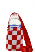 """CHC-Beverly Hills CHESS, High End Cup Necklace Holders """"Set of 5.1cm Red-White and Red Ribbon Large"""