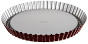 """Dr.Oetker """"Back-Liebe"""" Pie Pan, O11.5.1cm , Red-Silver"""