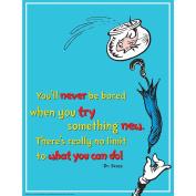 Eureka Dr. Seuss Try Something New Poster