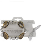 "Serenity Prayer Inspirational Bracelet with Book Mark "" God Grant me the Serenity...""- Jewellery Nexus"