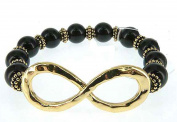 Infinity Bead Bracelet Hand by Jewellery Nexus