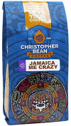 Christopher Bean Coffee Decaffeinated Whole Bean Flavoured Coffee, Jamaica Me Crazy, 350ml