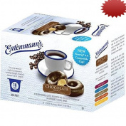 Entenmann's Single Serve Coffee, Chocolate Donut, 10 Count