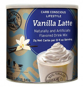 Big Train Carb Conscious Blended Ice Coffee, Vanilla Latte, 0.8kg