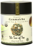 The Tao of Tea, Genmaicha Green Tea And Toasted Rice, Loose Leaf, 100ml Tin