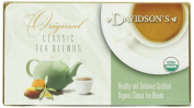 Davidson's Original Classic Assorted Decaf & Caffeine Free Herbal Tea Blends 100 Individually Wrapped Single Serve Teabags