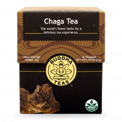 Buddha Teas Chaga Tea, 18 Count