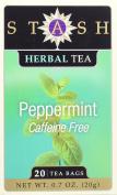 Stash Tea Peppermint Herbal Tea Bags in Foil, 120 Count