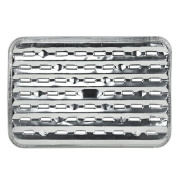 Nicole Home Collection 03270 3 Count Aluminium BBQ Grill Pans, Silver