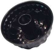 Patisse Nonstick Mini Bundt Pan, 9.8cm , Black
