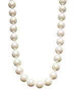 """Charter Club simulated pearl strand 14mm, 16"""""""