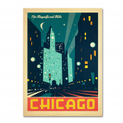 Trademark Fine Art Chicago III by Anderson Design Group, 36cm by 48cm