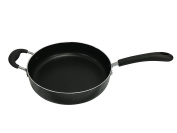 Wee's Beyond 6151 Heavy Duty Non-Stick Jumbo Cooker/Saute Pan, Black