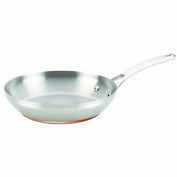 Anolon Nouvelle Copper Stainless Steel 27cm French Skillet