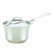 Anolon Nouvelle Copper Stainless Steel 3.3l Covered Saucepan