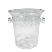 Party Dimensions 1 Count 1.4l Plastic Ice Bucket, Mini, Clear