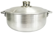 Wee's Beyond 6632-07 Heavy Gauge Caldero Dutch Oven with Aluminium Lid, 4.5l, Silver