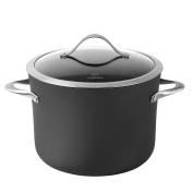 Calphalon Contemporary Hard-Anodized Aluminium Nonstick Cookware, Stock Pot, 7.6l, Black