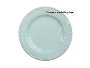 Signature Housewares Sorrento Collection 15cm Round Appetiser Plate, Aqua