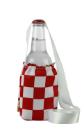 """CHC-Beverly Hills CHESS, High End Cup Necklace Holders """"Set of 5.1cm Red-White and White Ribbon Large"""