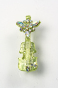 Chic Chelsea Violin Pin