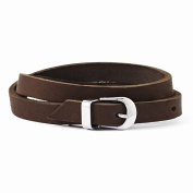 Top 10 Jewellery Gift Stainless Steel Brown Leather Bracelet