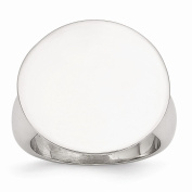 Perfect Jewellery Gift Stainless Steel Polished Circle Ring