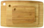 Kole OF444 Bamboo Cutting Board Set, Regular