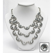 Imperia Necklace and Earrings Ensemble