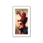 ArtWall Eric Joyner 'Robo Kong' Unwrapped Flat Canvas Artwork, 41cm by 70cm