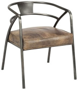 Moe's Home Collection Stratham Club Chair, Light Brown