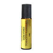 Tobacco Vanille Oil. IMPRESSION of -{TF_Tobbaco_Vanille}* with SIMILAR Perfume Notes, 10ml Amber Glass Roller, Black Cap; 100% Pure