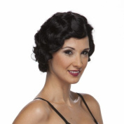 Characters Roaring 20s Synthetic Wig - Black