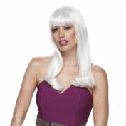 Characters Diva Synthetic Wig - Platinum White