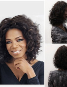 Wigs have an attractive convenience fashion Fashionable Women's Glueless Deep Curly Short Hair Wig for African American