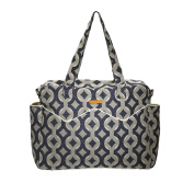 Foxy Vida Satchel Nappy Bag, Midnight Talvin