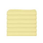 bkb Daycare 6 Piece Portable Crib Sheets, Yellow