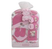 Bunchkin Baby Girl Pink Blanket Gift Set