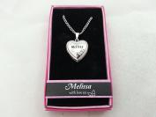 Hallmark Love Locket Necklace with 41cm - 46cm Adjustable Chain - Melissa