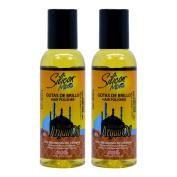 """Silicon Mix Moroccan & Argan Gotas De Brillo Hair Polisher Oil 120ml """"Pack of 5.1cm"""