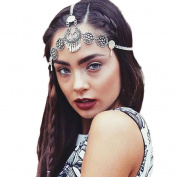 Leoy88 Bohemia Retro Hair Chain for Women Girl Gift