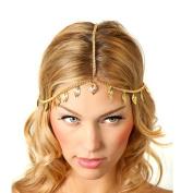 Leoy88 Leaf Head Chain Headpiece Jewellery Gift for Women Girl