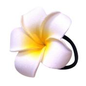 Leoy88 1pc Egg Flower Hair Circle for Women Girl (L